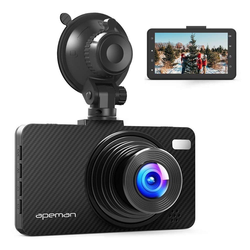 Apeman FHD Car DVR Recorder}