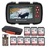 Stealth Cam SD Card Reader and Viewer with Touch Screen 4.3″ LCD + 8 16GB SD Cards + Rugged Storage Case Review