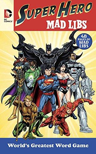 Comics Super Hero Mad Libs
