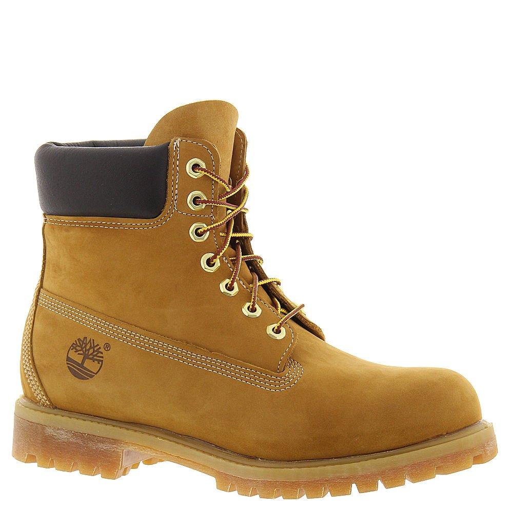 Timberland Men's Icon 6'' Premium Classic Boot Wheat Nubuck 7 W