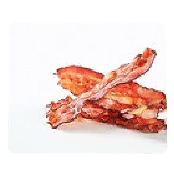 alfombrilla de ratón tiras de tocino frito - rectangular - 23cm x 19 cm