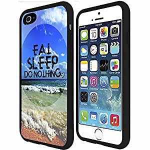 Eat Sleep Do Nothing Hard Snap on Phone Case (iPhone 6 Plus) by mcsharks