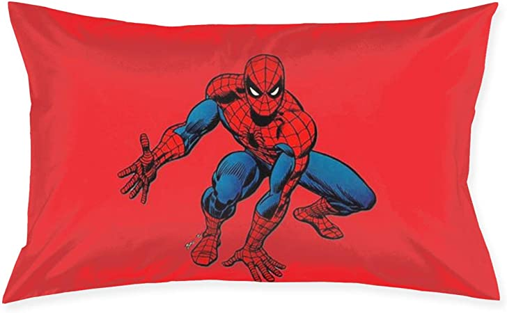 HHenry Spider Man Cotton Pillow Throw