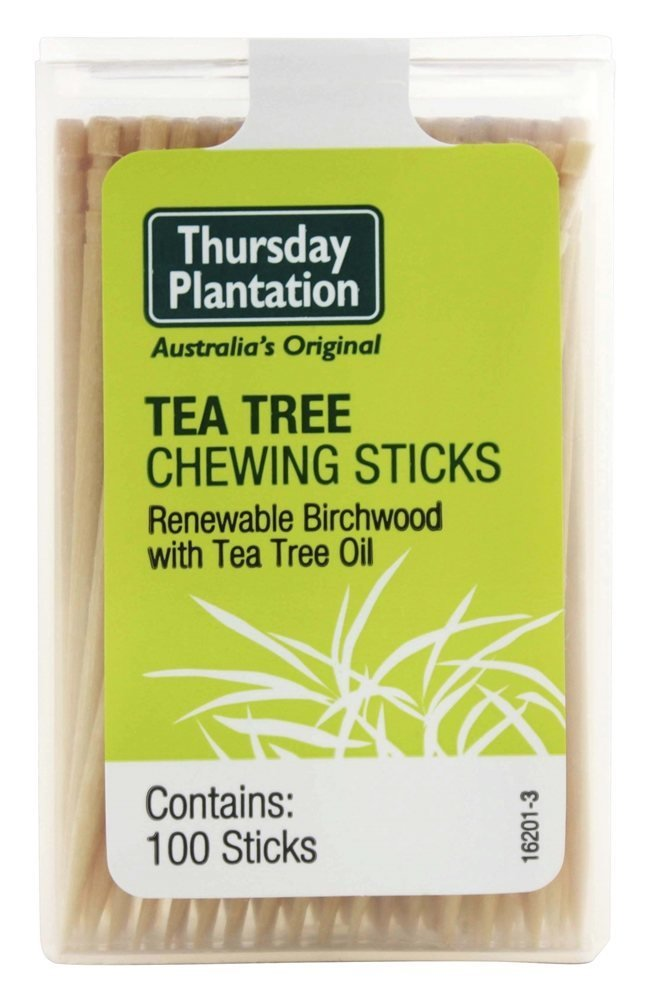 Thursday Plantation Tea Tree Original Chewing Sticks, 100 Count 6700