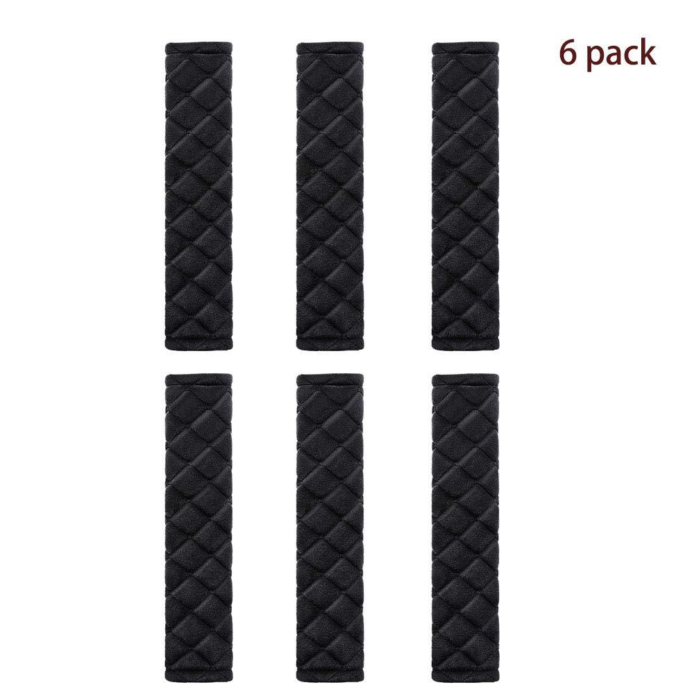 Car Seat Belt Pads Seatbelt Protector Soft Comfort Seat Belt Shoulder Strap Covers Harness Pads Helps Protect Your Neck and Shoulder 2 Pack