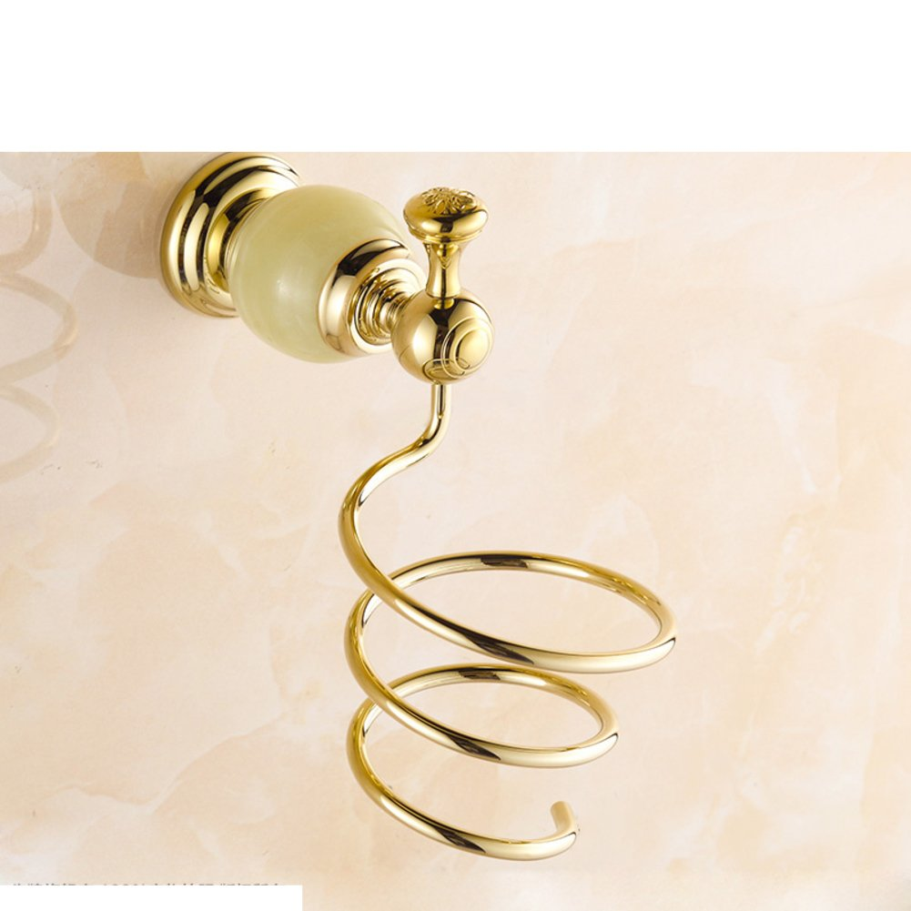 Hair Dryer Holder,Hair Dryer Shelf,Hair Blow Dryer Holder, blower shelf antique solid wall bathroom hair dryer holder-E
