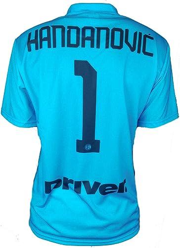 Camiseta oficial del Inter Handanovc 2019 – 20 para hombre, adulto o niño Samir 1 portero Capitán: Amazon.es: Ropa y accesorios