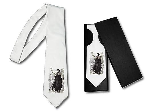 MERCHANDMANIA Corbata Elegante Juego Medieval Rey del Norte Suave ...