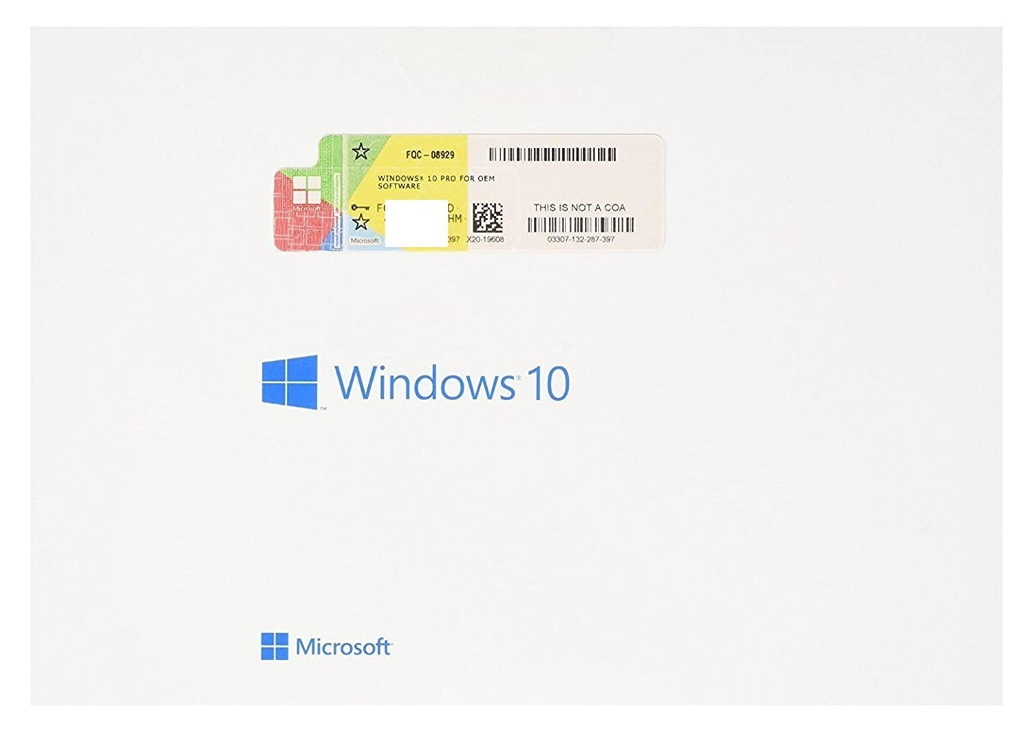 Microsoft Windows 10 Pro 32/64 Bits Clave Licencia 100% Genuina WIN ...