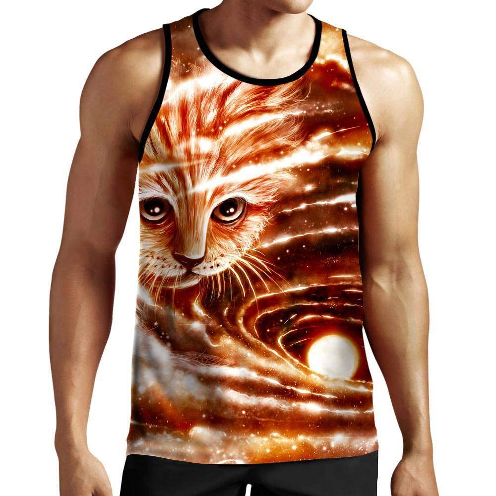 On Cue Apparel The Visiting Cat Tank Top