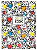 OOLY, Make Notes 5.75'' x 4'' Color Book, Hearts (163-005)