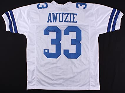 official photos 41294 eb395 Chidobe Awuzie #33 Signed Dallas Cowboys Jersey (TSE) at ...