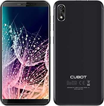 "CUBOT J3 (2018) Smartphone Libre Pantalla 5.0"" 18:9, Android Go 4 ..."