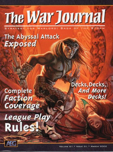 "The War Journal ""Strategy for Warlord: Saga of the Storm"" March 2002 (Volume 1)"