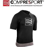 Compressport 男士 运动跑步训练排汗速干瑜伽健身T恤体恤压缩服 CS-TSTN