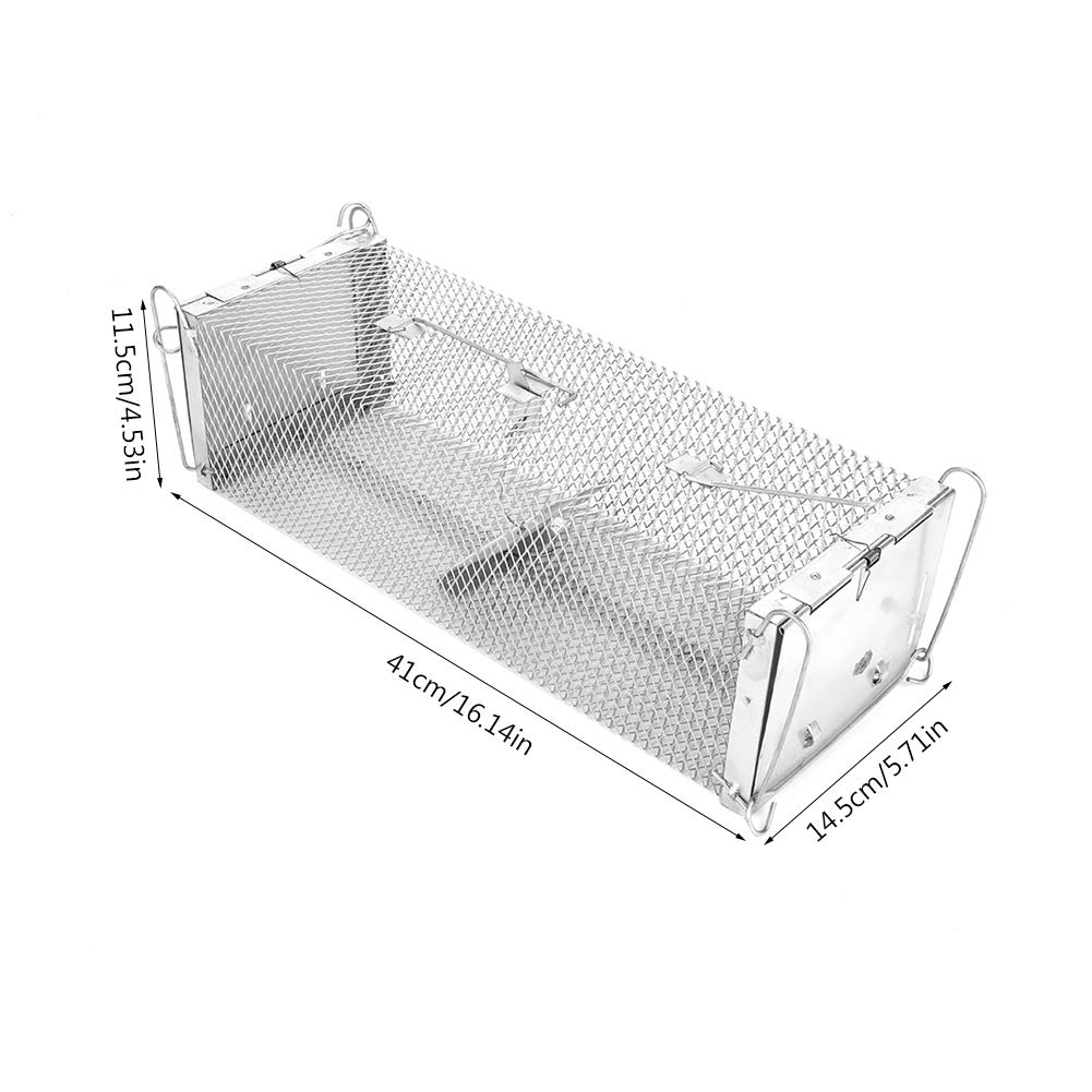 Fdit Mouse Trap Rat Steel Cage for Small Rodent e Cage ... on