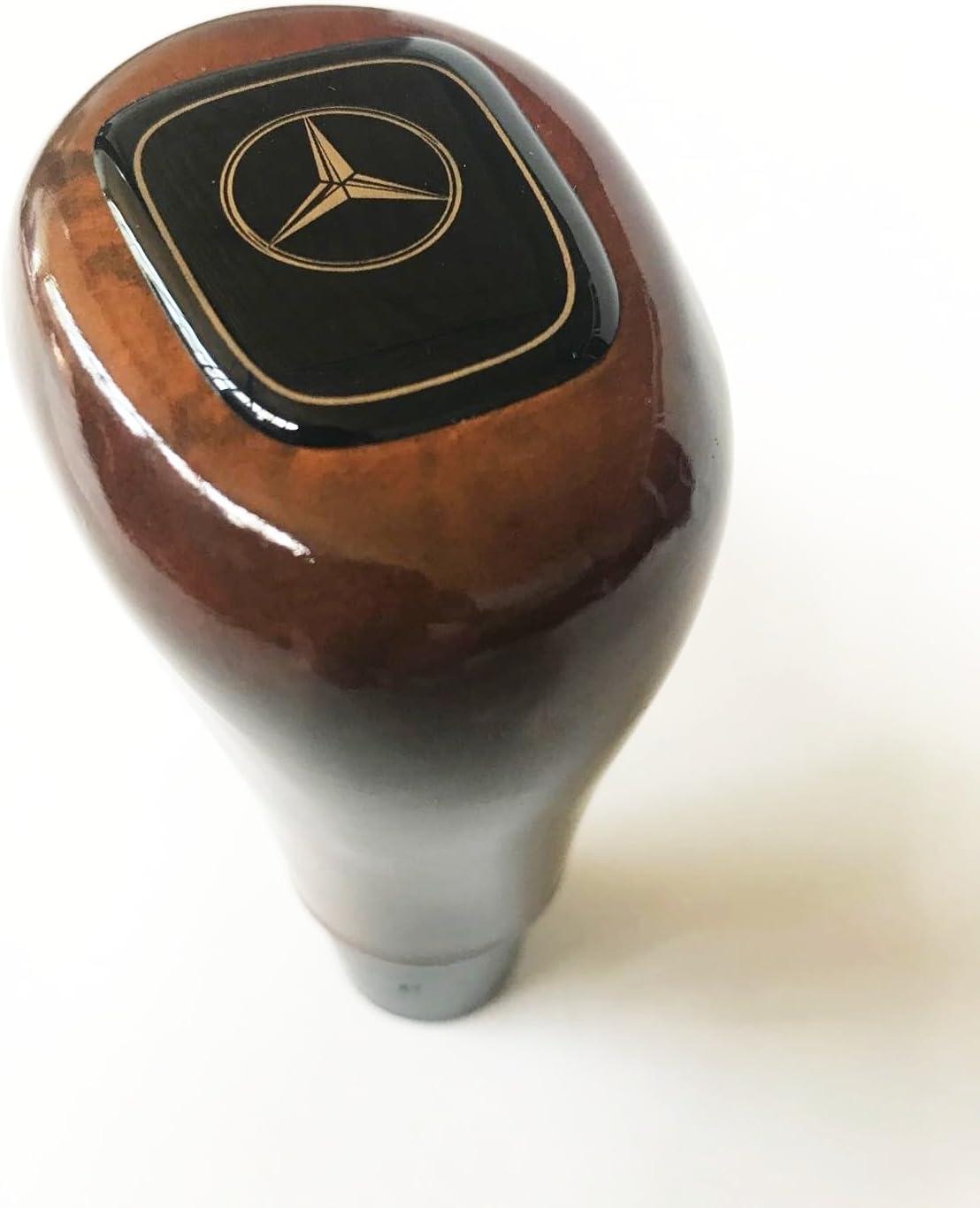 Ladika Wood Gear Shift Knob for Mercedes Wallnut Manuel W114 W115 W116 W123 W124 W126 W201