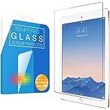 MS factory iPad ガラスフィルム 2017 / Air Air2 ブルーライト カット 90% 新型iPad 9.7 液晶保護 ガラス フィルム 強化ガラス アイパッド エア エア2 ラウンドエッジ 90日 保証 FD-IPDA2-BLUE-AB
