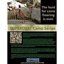 SUPERCOAT Camo Series Epoxy Floor Coating