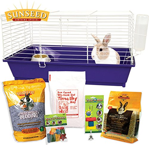 HOME SWEET HOME SUNSEED STARTER KIT RABBIT - 28X17X15.5 IN by DavesPestDefense