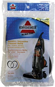 Bissell Cleanview Vacuum Belt Style 7 For Use With Bissell Bagged 2 / Pack