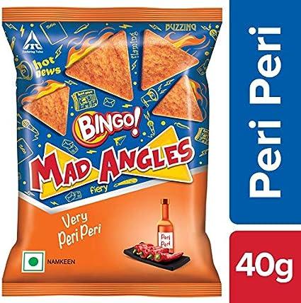 Bingo! Mad Angles, Very Peri Peri 40g