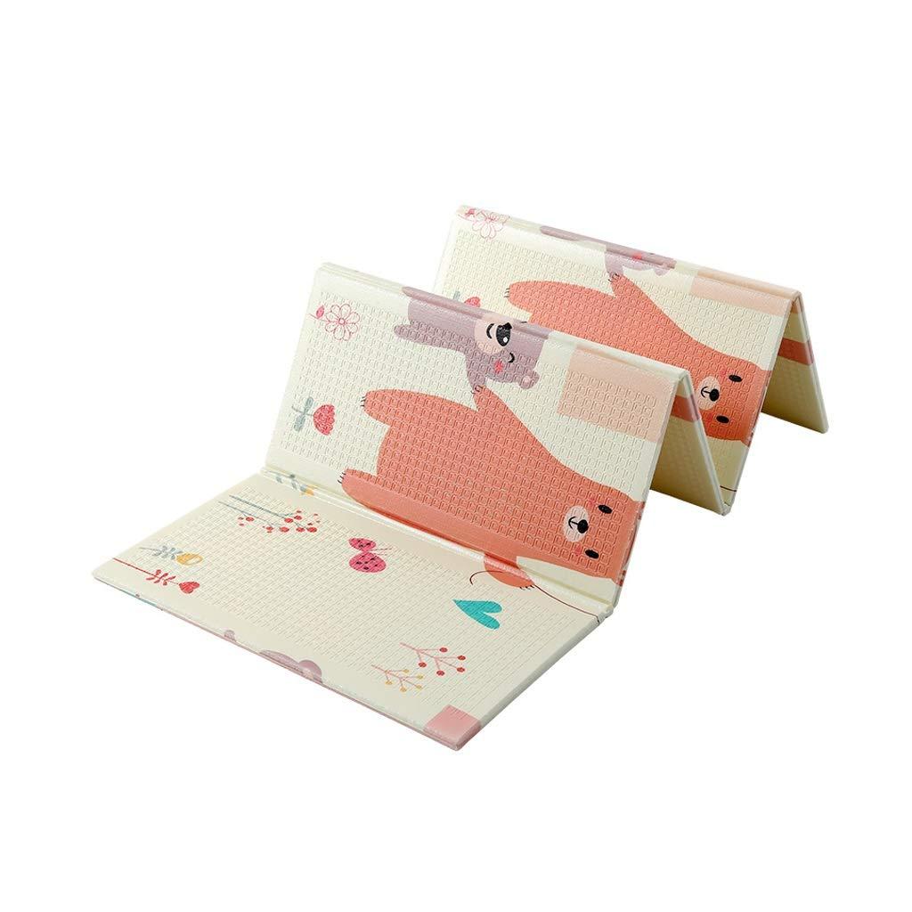 Kinder Krabbeln Matte XPE Wohnzimmer Home Tragbare Falten Foam Pad Gamepad