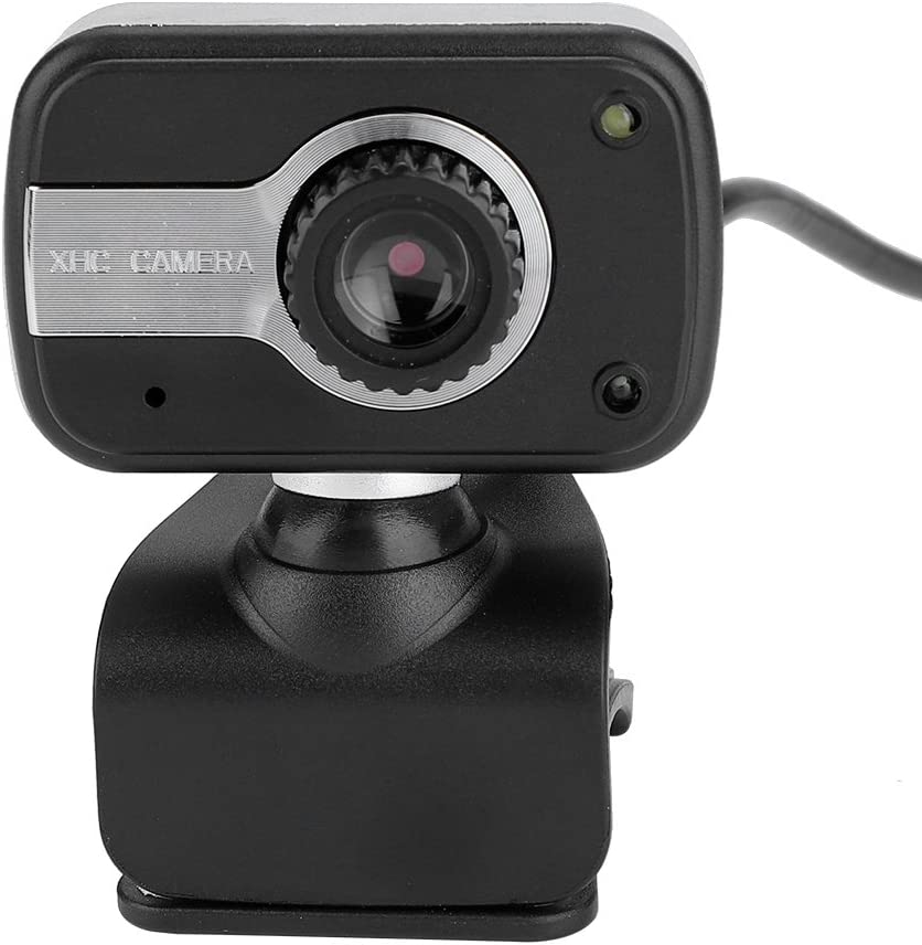 Bewinner USB Video Camera for LCD Screen and Laptop, Full HD Web Camera Cam with LED Lights Night Vision 360 Web Camera for LCD Screen Laptop for/MSN/ICQ Night Vision