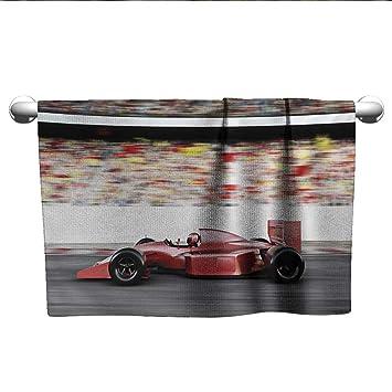 Amazon.com: alisoso coches, toallas de viaje retro coche ...