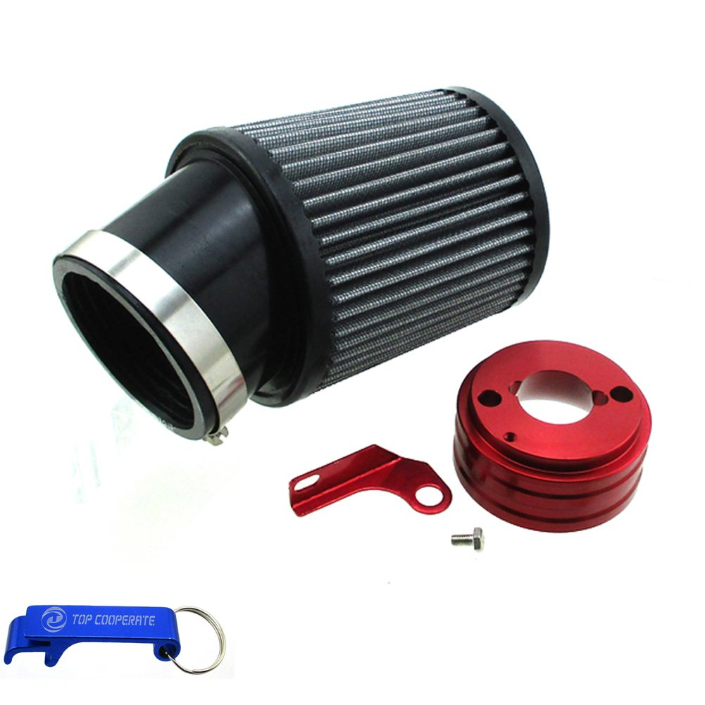TC-Motor Air Filter & Adapter Kit For 6.5 HP Honda Clone GX160 GX200 Go Kart Predator 212cc Engine Go Kart Racing Cart Mini Bike