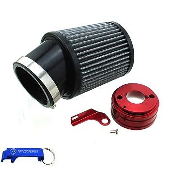 TC-Motor Air Filter & Adapter Kit For 6 5 HP Honda Clone GX160 GX200 Go  Kart Predator 212cc Engine Go Kart Racing Cart Mini Bike