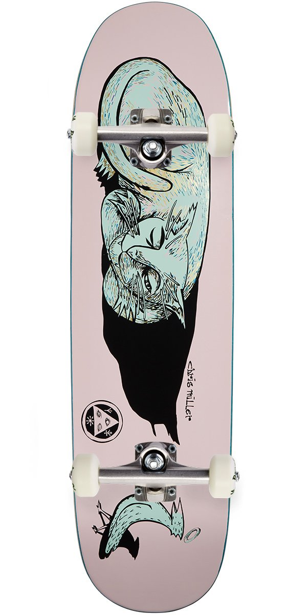 1dc8368e3 Welcome Miller Guilty Cat on Catblood Skateboard Complete - Pink - 8.5
