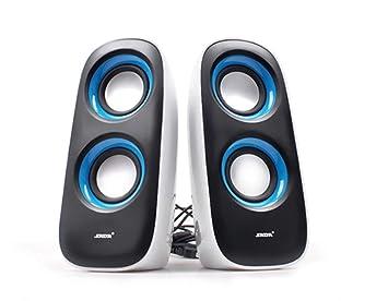 Love Life PC Altavoz, Ordenador Portátil De Audio De Escritorio Pequeño Altavoz De 4 Canales Portátil USB 2.0 Subwoofer,Blue: Amazon.es: Deportes y aire ...