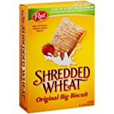 Post Shredded Wheat Cereal 15 oz (Pack of 12)