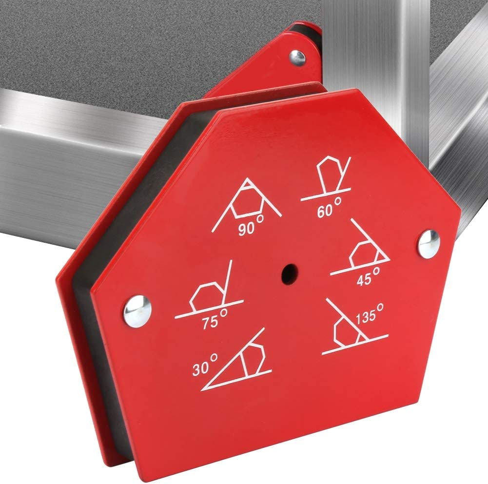 1Pcs multi-angle /à six c/ôt/és 50LBS support de fixation daimant de soudure magn/étique outil de fixation soudeur Support de soudage