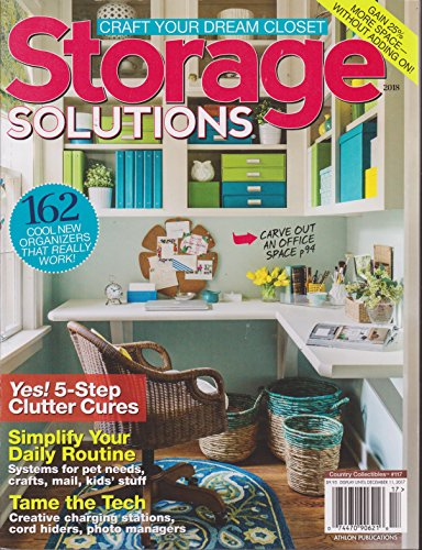 Country Collectibles Magazine #117 | Storage Solutions 2018