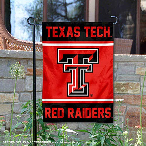 College Flags and Banners Co. Texas Tech Red Raiders Garden - Stand Texas Tech