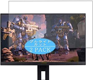 """?2 Pack? Synvy Anti Blue Light Screen Protector compatible with Acer xf240 / xf240h / xf240yu bmiidprzx / xf240hbmjdpr 23.8"""" Display Monitor Anti Glare Screen Film Protective Protectors [Not Tempered Glass]"""