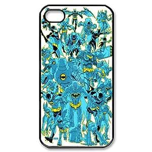 Unique Design -ZE-MIN PHONE CASE For Iphone 4 4S case cover -Batman Super Hero Pattern 19