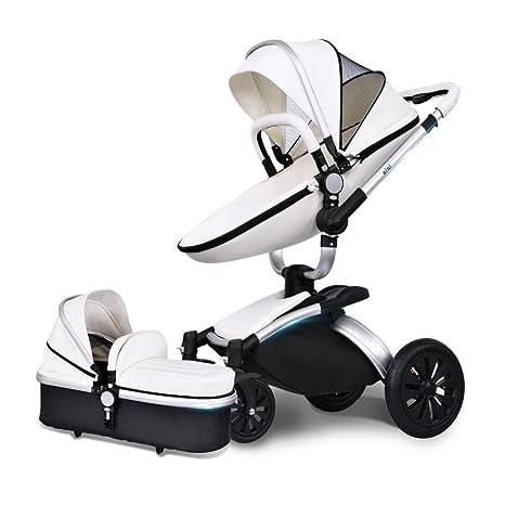 AiQi - Sistema de viaje 3 en 1, silla de paseo, carrito con capazo