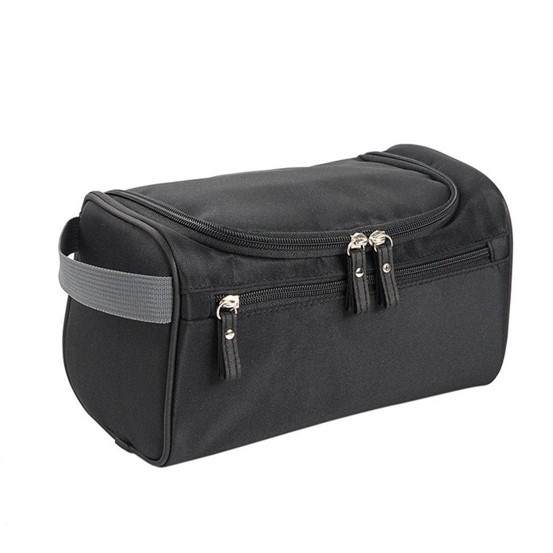 Amazon.com  DWR Toiletry Bag, Overnight Wash Bag Hanging Gym Shaving Bag  Make Up Bags For Men Women Ladies (Black)  Shoes a63b6998b8