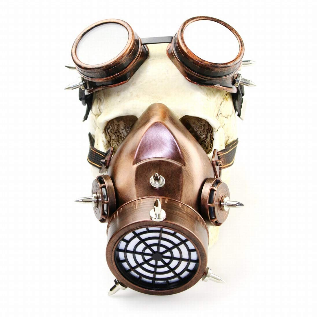 AREDOVL Maschera Antigas Steampunk Maschera Gotica per Cosplay Party