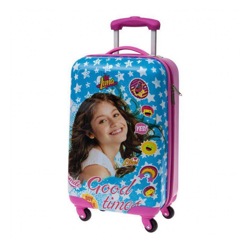 Disney Kabinenkoffer Ich bin Luna Kindergepäck, 33 Liter, Blau