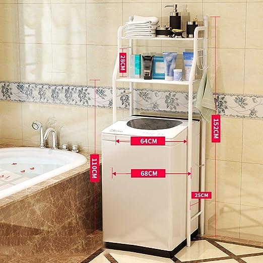 Estante de la lavadora lavado simple máquina de bastidor, 2-capa ...