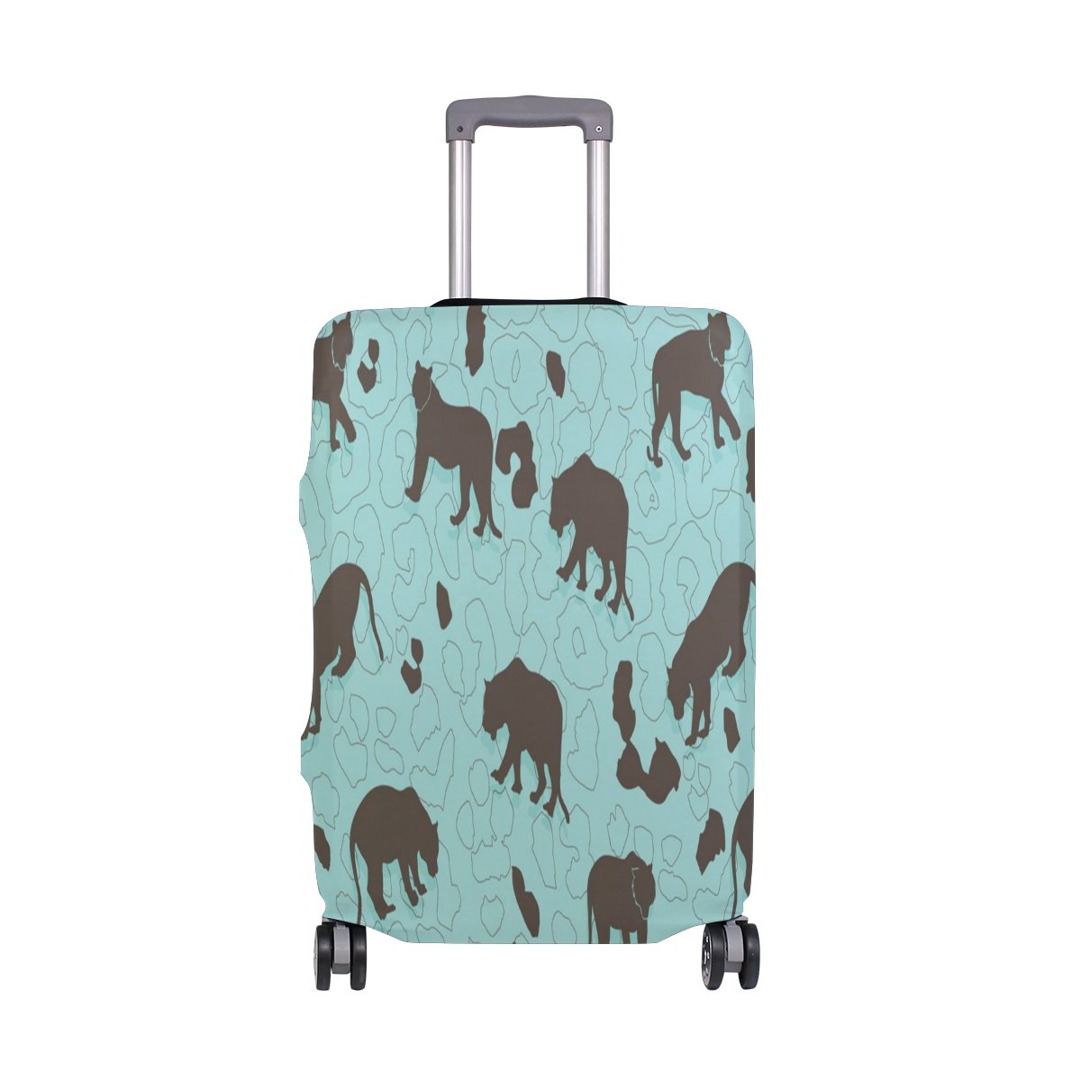 6786b4c7680d lovely THUNANA Tiger Print Elastic Travel Luggage Cover Protector ...
