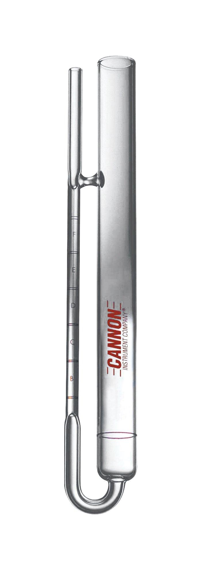 Cannon AIVC-400 Asphalt Institute Vacuum Calibrated Viscometer, 9,600 to 140,000 Poise Viscosity Range, Size 400
