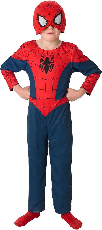Rubies SPIDERMAN ~ reversible Ultimate Spider-Man - Traje Niños 5 ...