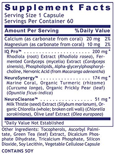 CereVen by Premier Research Labs (4 Bottles / 240 Vcaps) Brain/Mental Support
