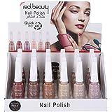 Nail polish set, multi color, 24 pcs