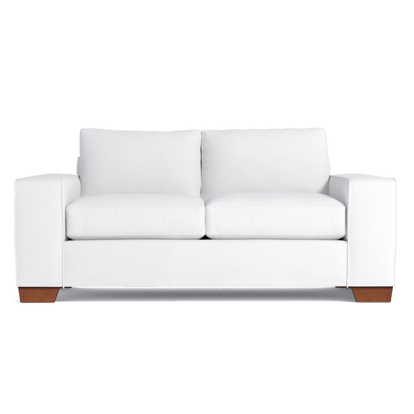 Amazon.com: Melrose Apartment Size Sofa, White, 68